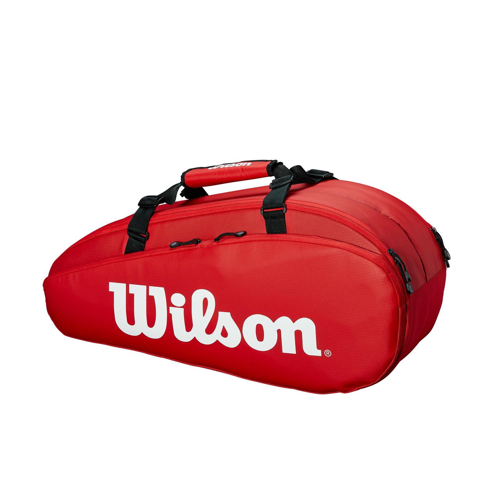 Raqueteiro Wilson Esp Tour Vermelho X6