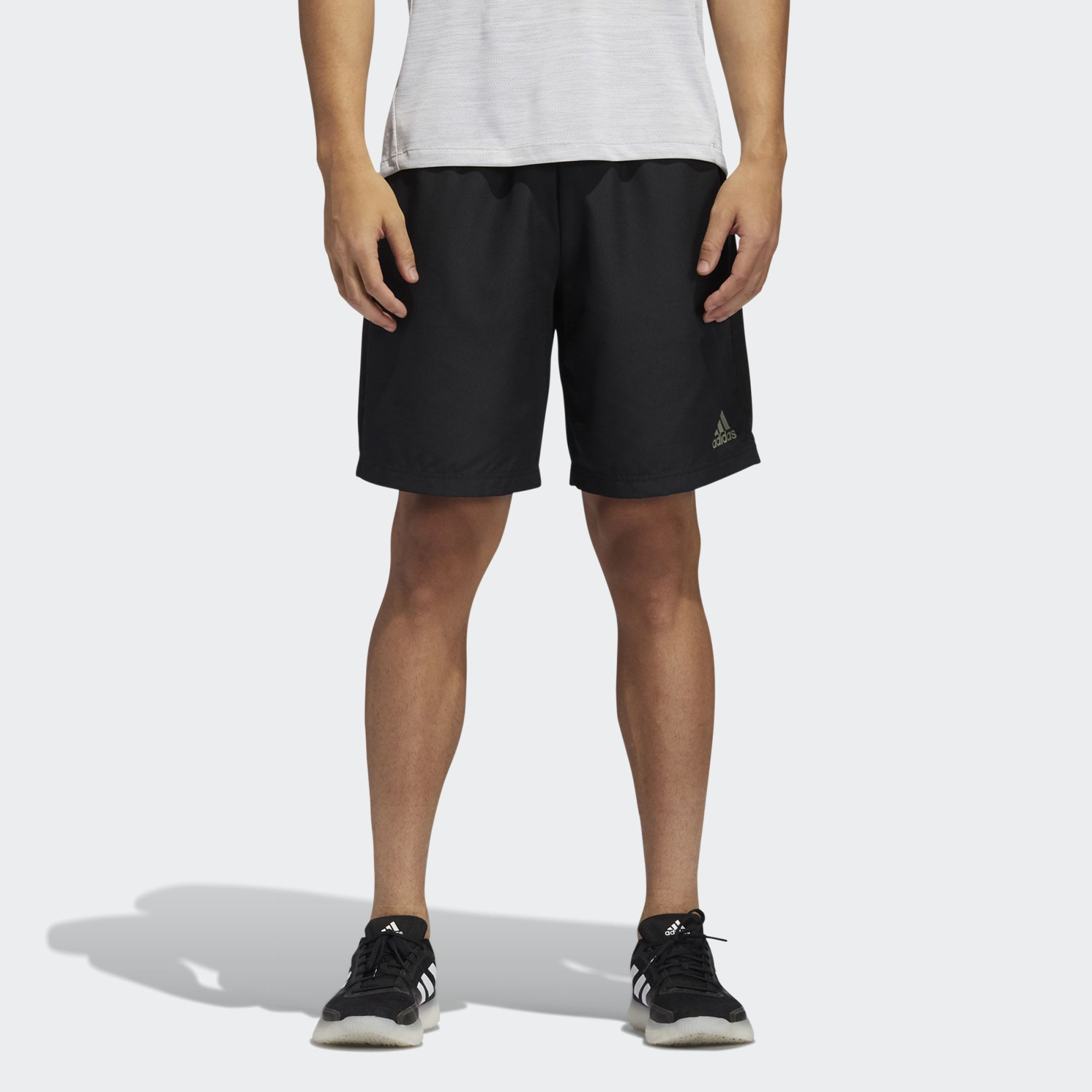 Shorts Adidas Masculino Color Block Preto/Verde