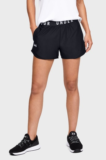 Shorts Under Armour Preto Feminino Play Up 3.0