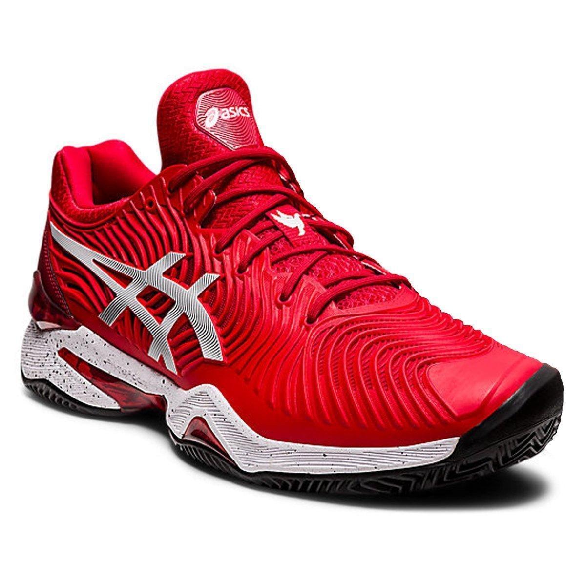 Tênis Asics Court FF 2 All Court Vermelho e Branco