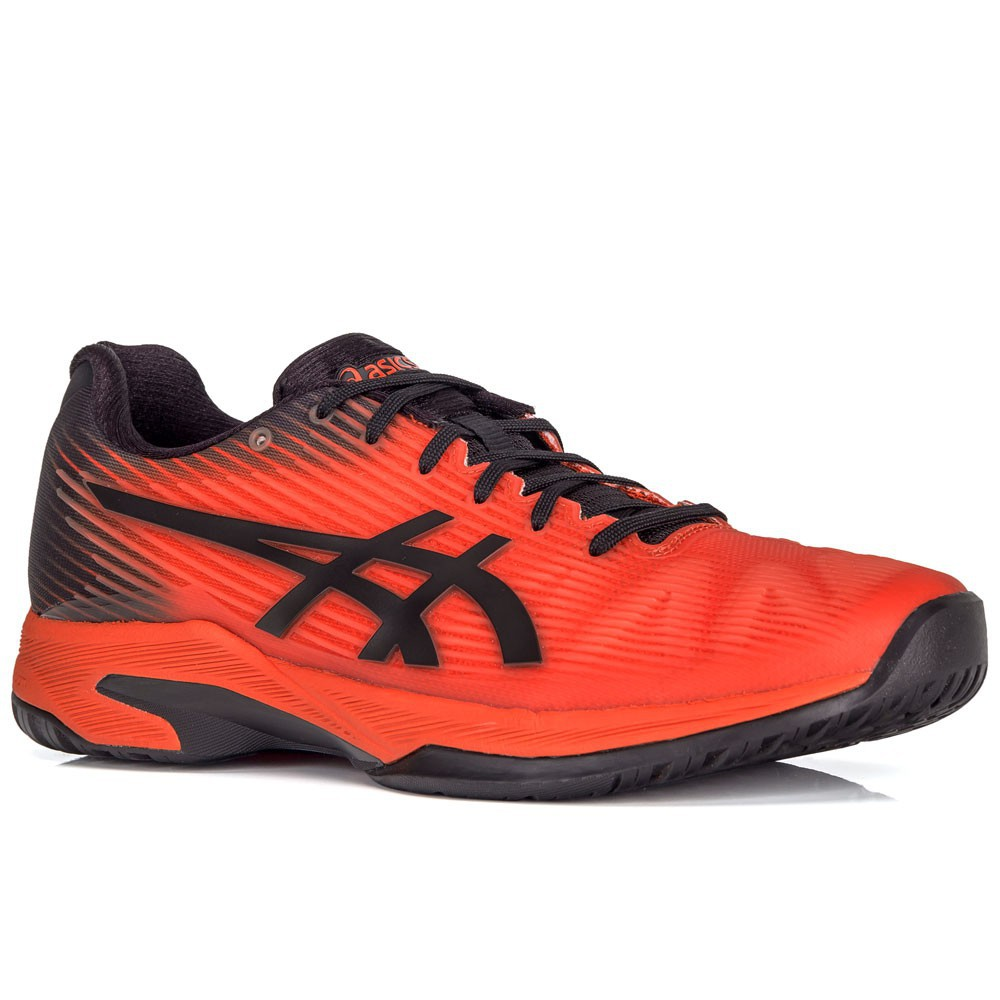 Tênis Asics Solution Speed FF Ed Tókio Laranja e Preto