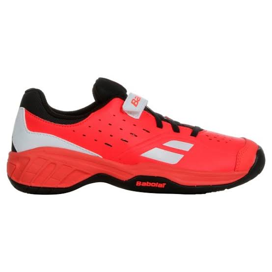 Tênis Babolat Pulsion All Court Kids Laranja e Preto