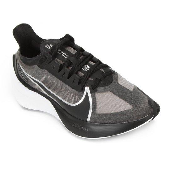 Tênis Nike Zoom Gravity Preto e Cinza