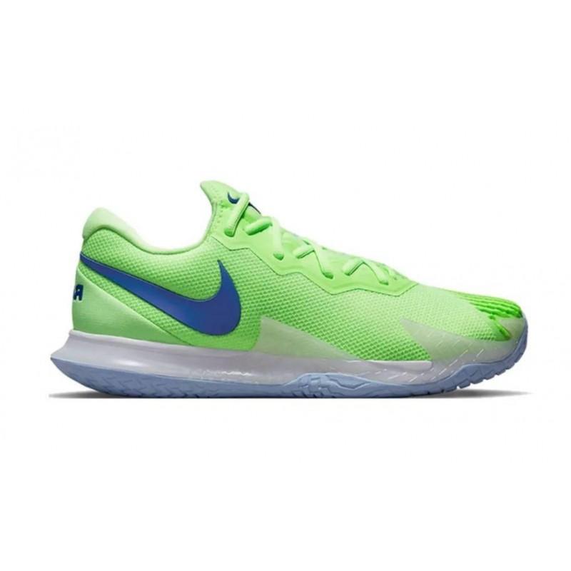Tênis Nike Zoom Vapor Cage 4 Rafa Verde e Azul