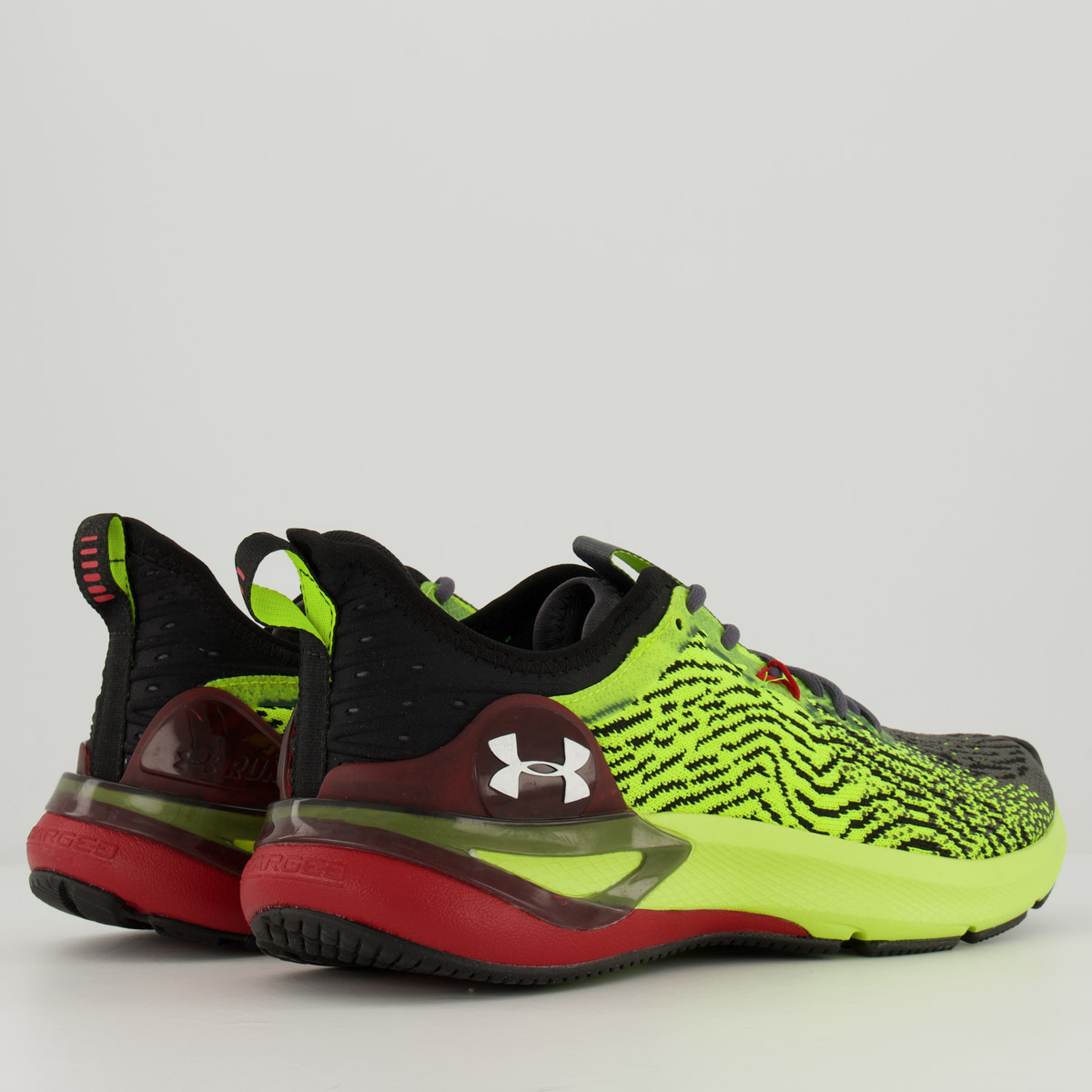 Tênis Under Armour Charged Stamina Masculino Amarelo