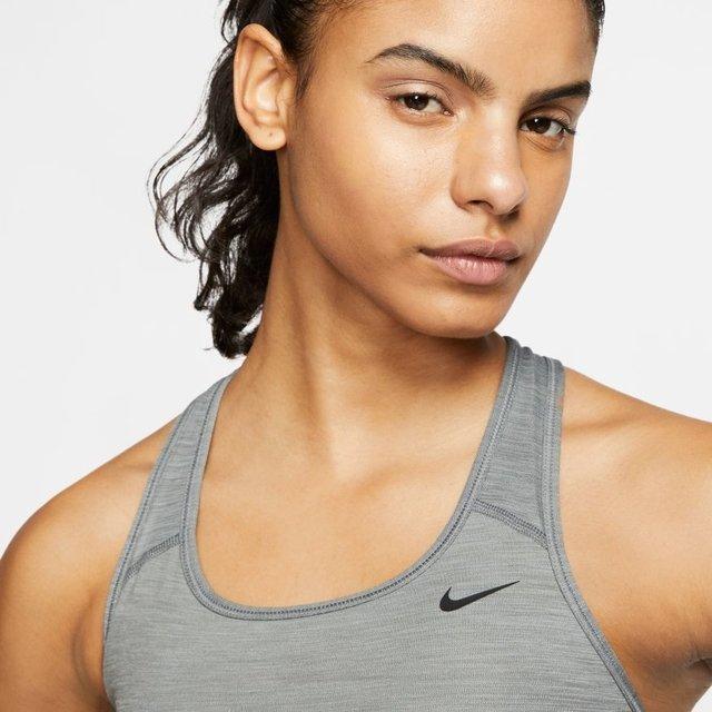 Top Nike Feminino Generico Cinza