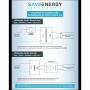 Dimmer Para Fita e Lâmpada LED Dimerzável Bivolt Saveenergy
