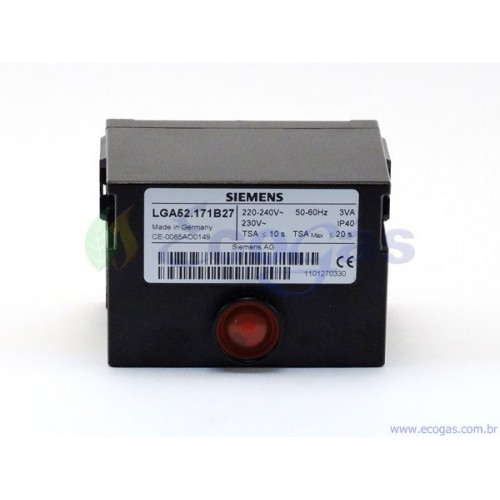 Programador de Chama Siemens LGA 52 17/B27 + BASE AGK11