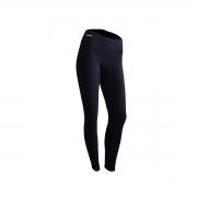 Calça Legging Feminina Preto Lisa com cintura média