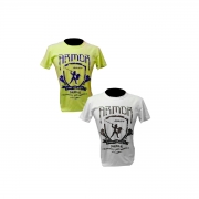 Camisa de malha manga curta First Legion 100% algodão