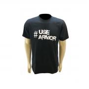 Camisa Malha de Manga Curta 100% Algodão Estampa USE ARMOR