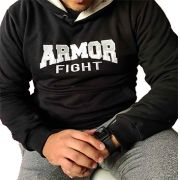 Casaco de Moletom - Armor Fight Preto