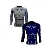Rashguard Spartan Body Manga Longa com Costura Reforçada