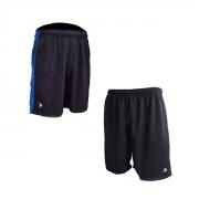 Short de basquete com cintura elástica cadarço dois bolsos frontais e logo bordada