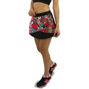 Short Saia Estampado Floral