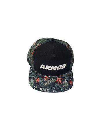 Boné Aba Reta Armor Fight - Floral com Bordado