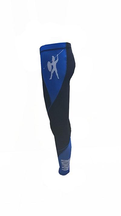Calça Compressão Masculina Armor Fight – Azul e Preta