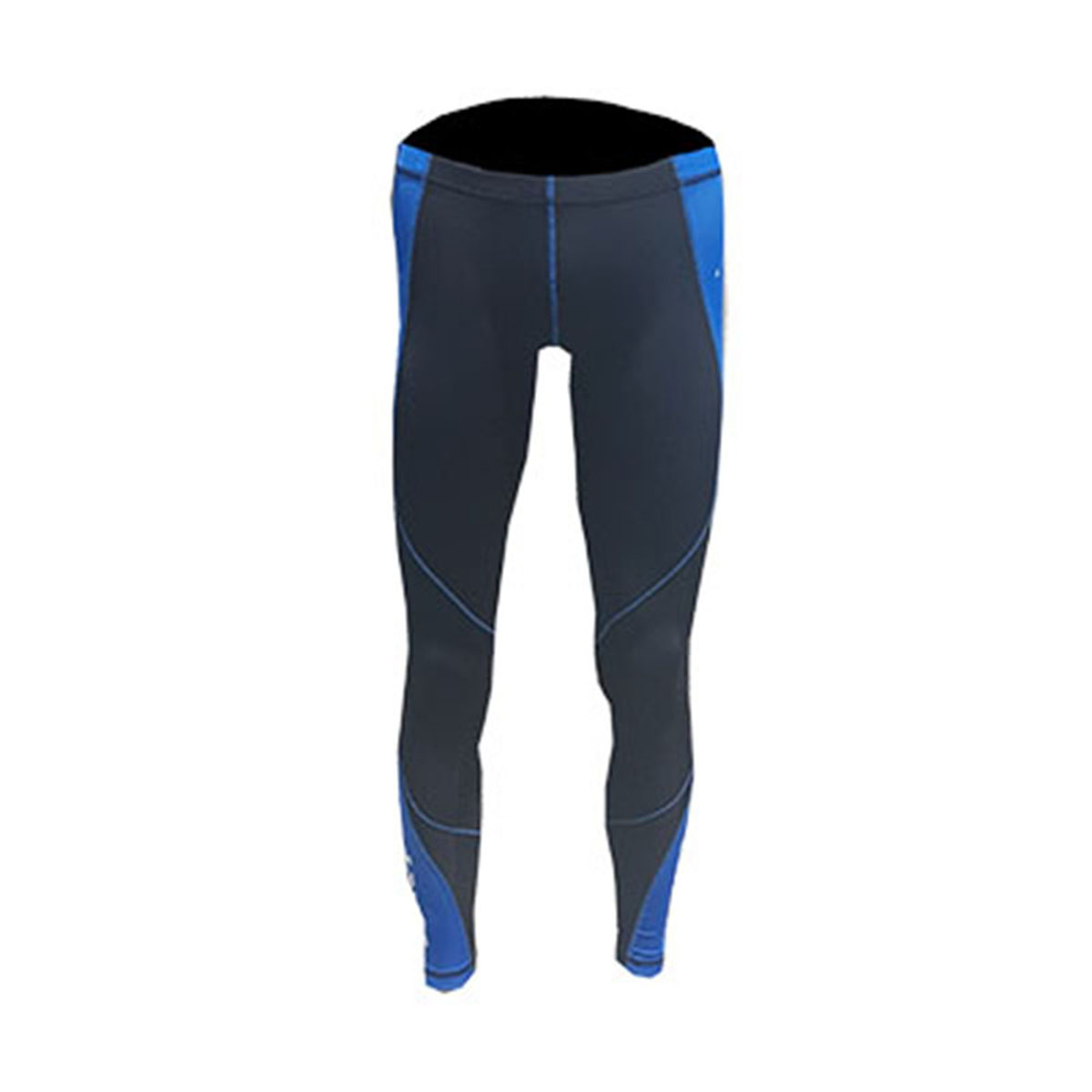 Calça Compressão Masculina Azul e Preto