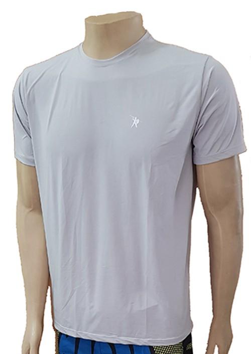 Camisa Armor Fight Poliamida c/ Elastano - Cinza - Armor nas costas