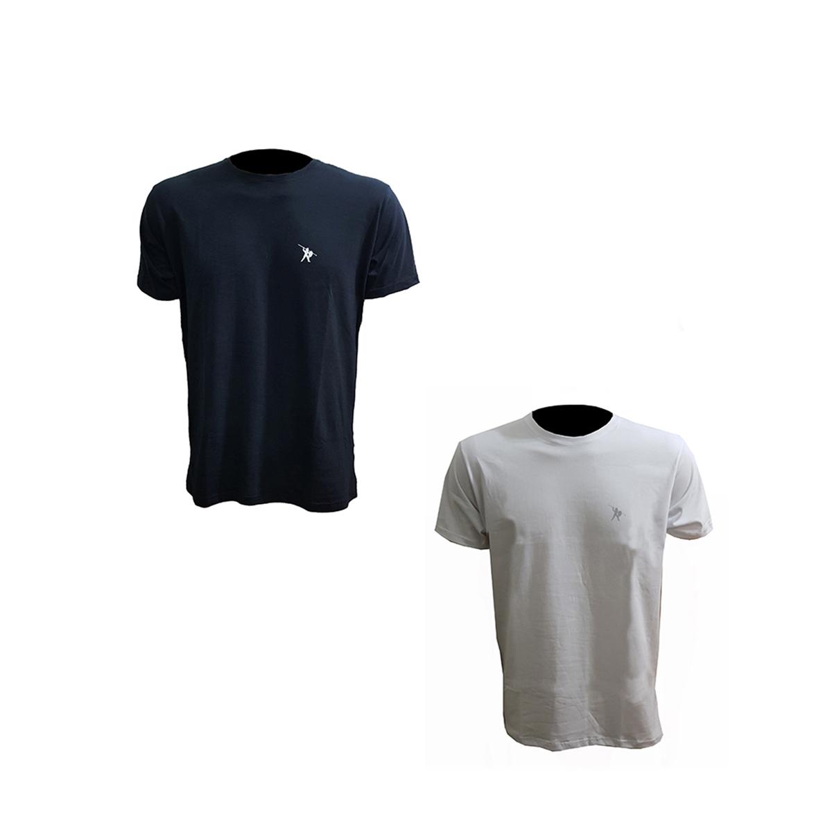 Camisa de malha manga curta Básica 100% Algodão