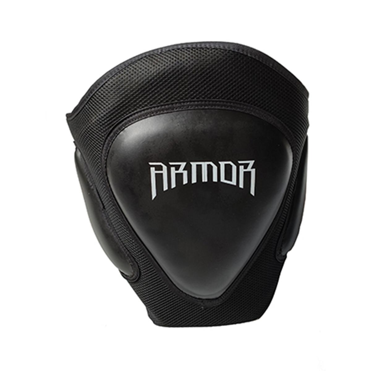 Protetor de Tórax Com tripla proteção protege toda a linha de cintura Feche traseiro com velcro reforçado