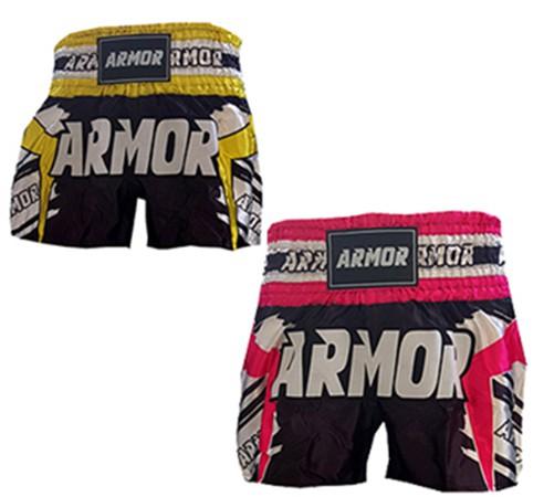 Short Muay Thai Armor Fight Tribal