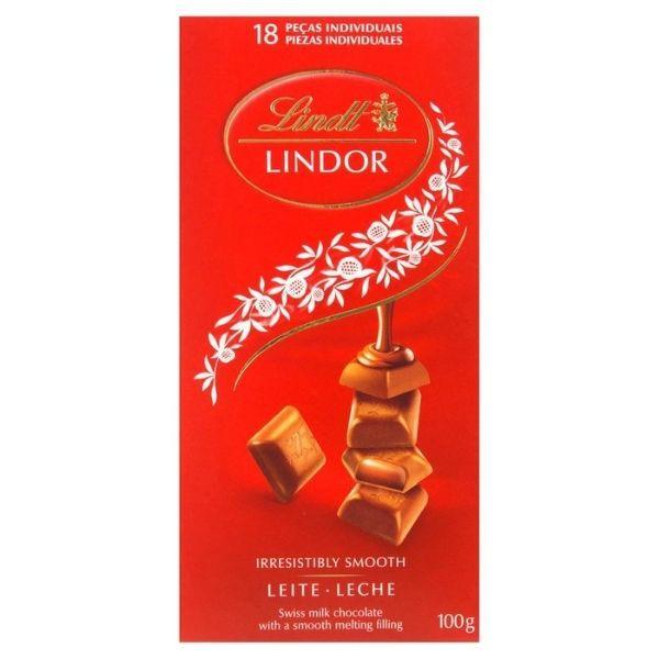 CHOCOL SUI LINDT MILK LINDOR SINGLE 100 G
