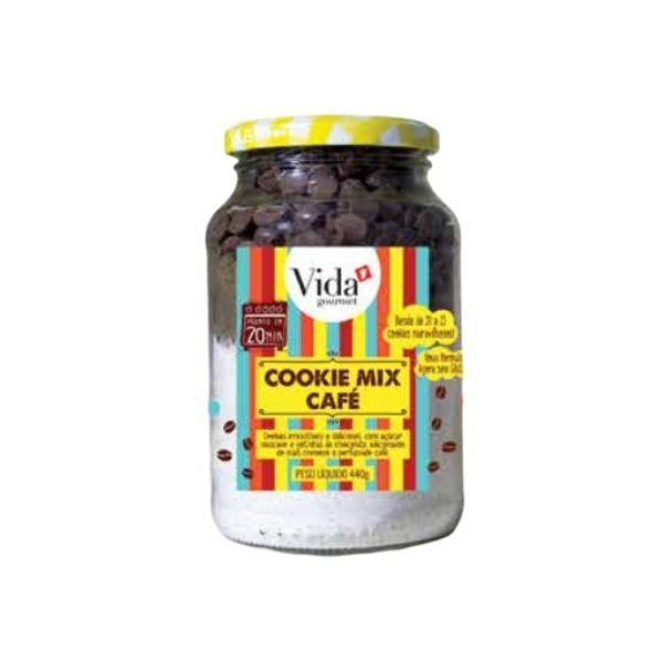 Cookie Mix -Chocolate e Café -Vida Gourmet - 440g
