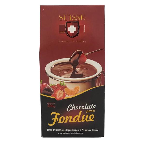 FONDUE SUISSE CHOCOLAT  PCT 200G