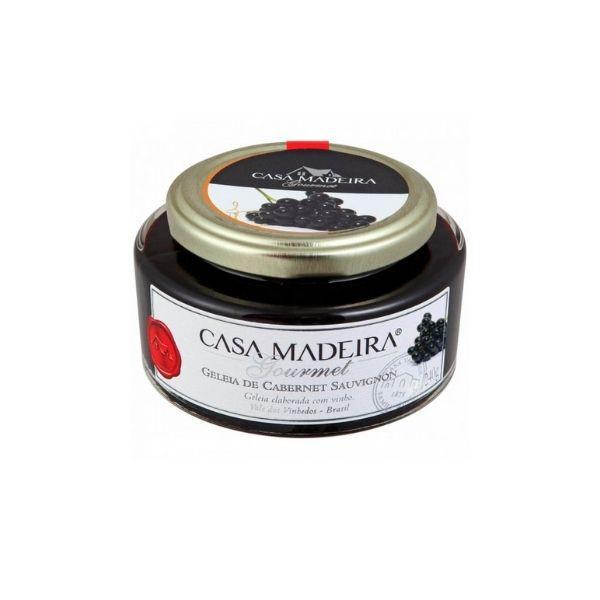 GELEIA - GOURMET Cab. Sauvignon 240 g - Casa Madeira