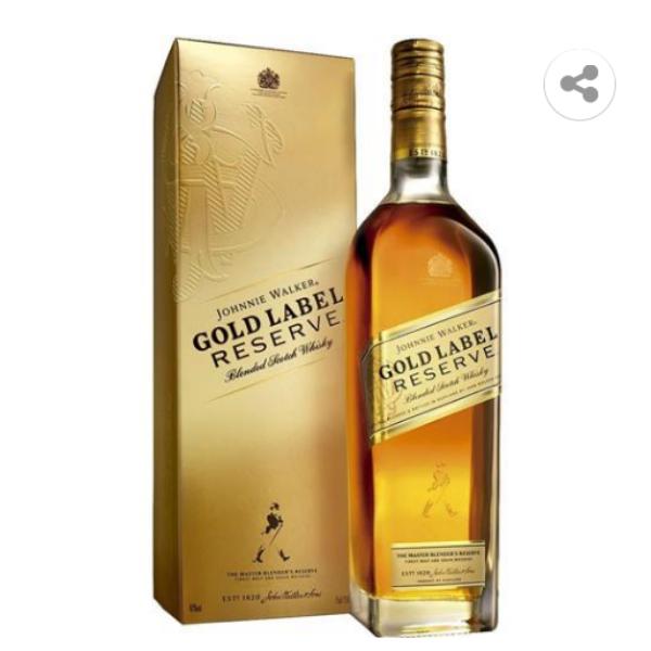 JOHNNIE WALKER GOLD LABEL 750M