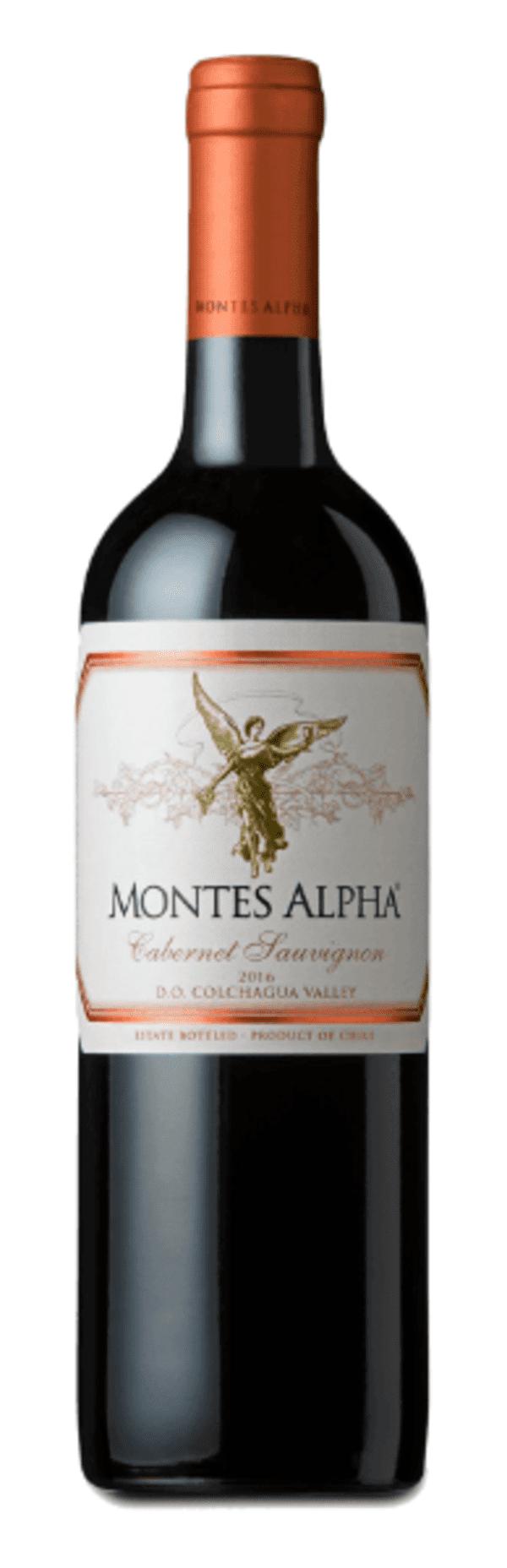 MONTES ALPHA CABERNET SAUVIGNON 2016 (TTO) (VINA MONTES)