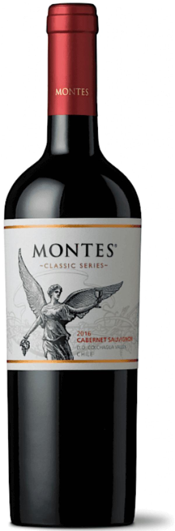 MONTES CABERNET SAUVIGNON RESERVA 2016 (TTO) (VINA MONTES)