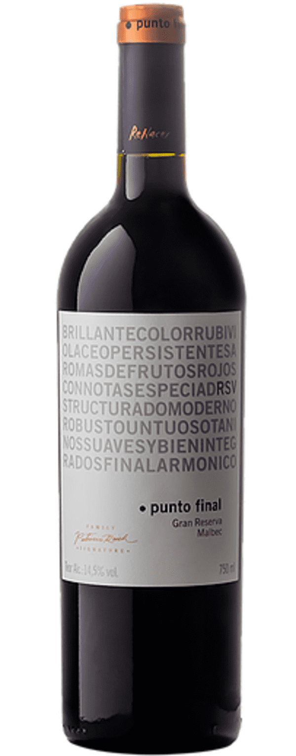 PUNTO FINAL MALBEC RESERVA FAMILY SIGNATURE GFA