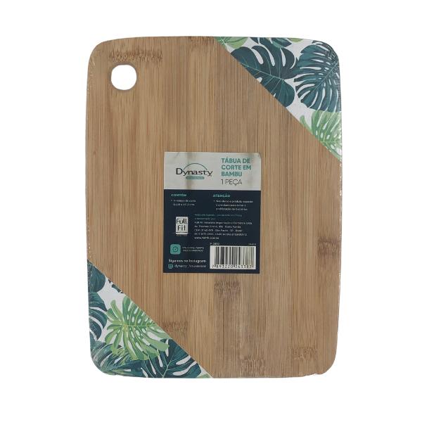 Tabua de corte em bambu L28xP21cm
