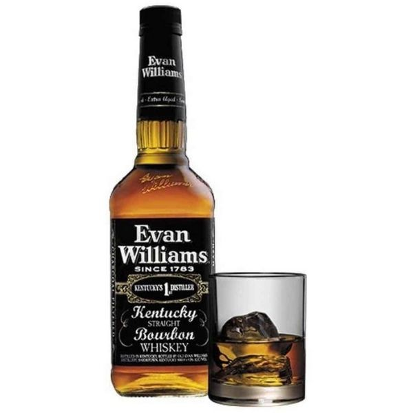WH BOURBON EVAN WILLIAMS BLACK LABEL 1L