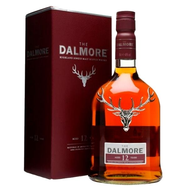 WH DALMORE 12 SINGLE MALT SCOTCH 700ML
