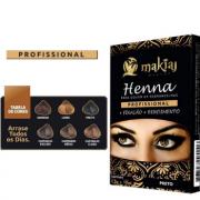 Henna Makiaj Rendimento Fixação Design Sobrancelhas