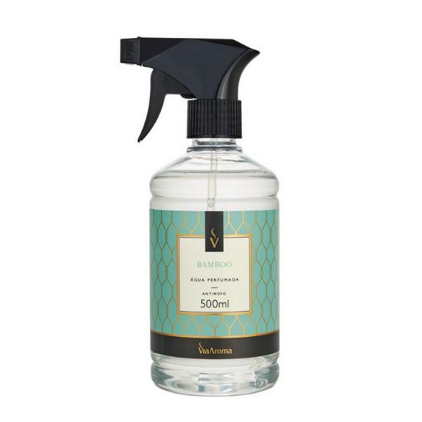Agua Perf. 500ml Classica Bamboo Bact/antim Via Aroma