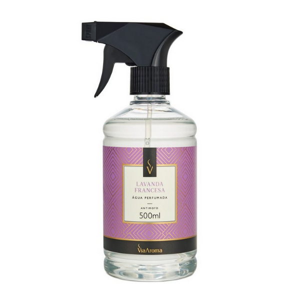 Agua Perf. 500ml Classica Lavanda Francesa Bact/antim Via Aroma