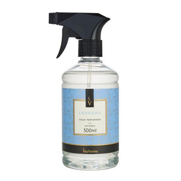 Agua Perf. 500ml Classica Lavanderia Bact/antim Via Aroma