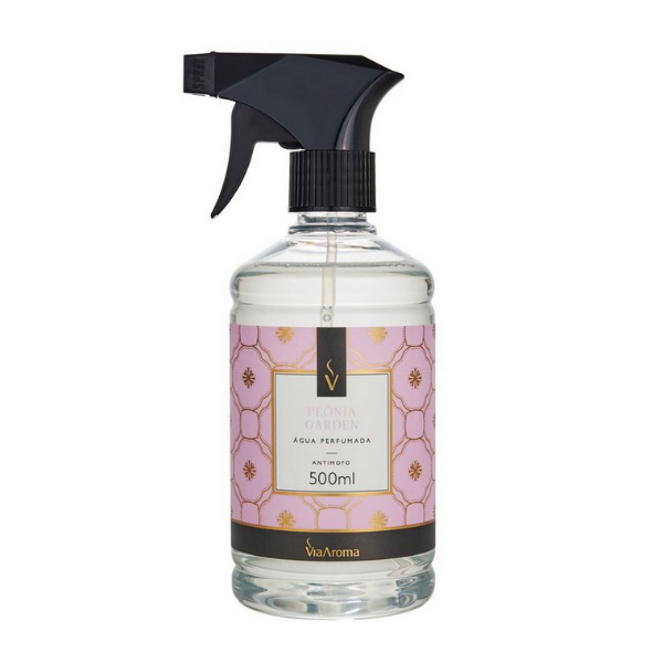 Agua Perf. 500ml Classica Peonia Garden Bact/antim Via Aroma
