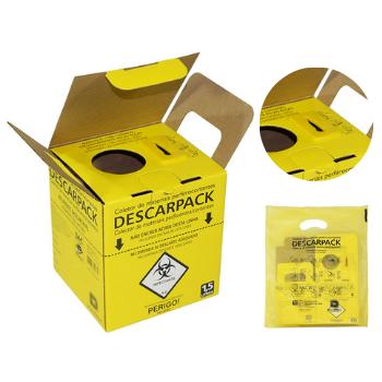 Caixa Coletora NR 7L Perfurante/Cortante