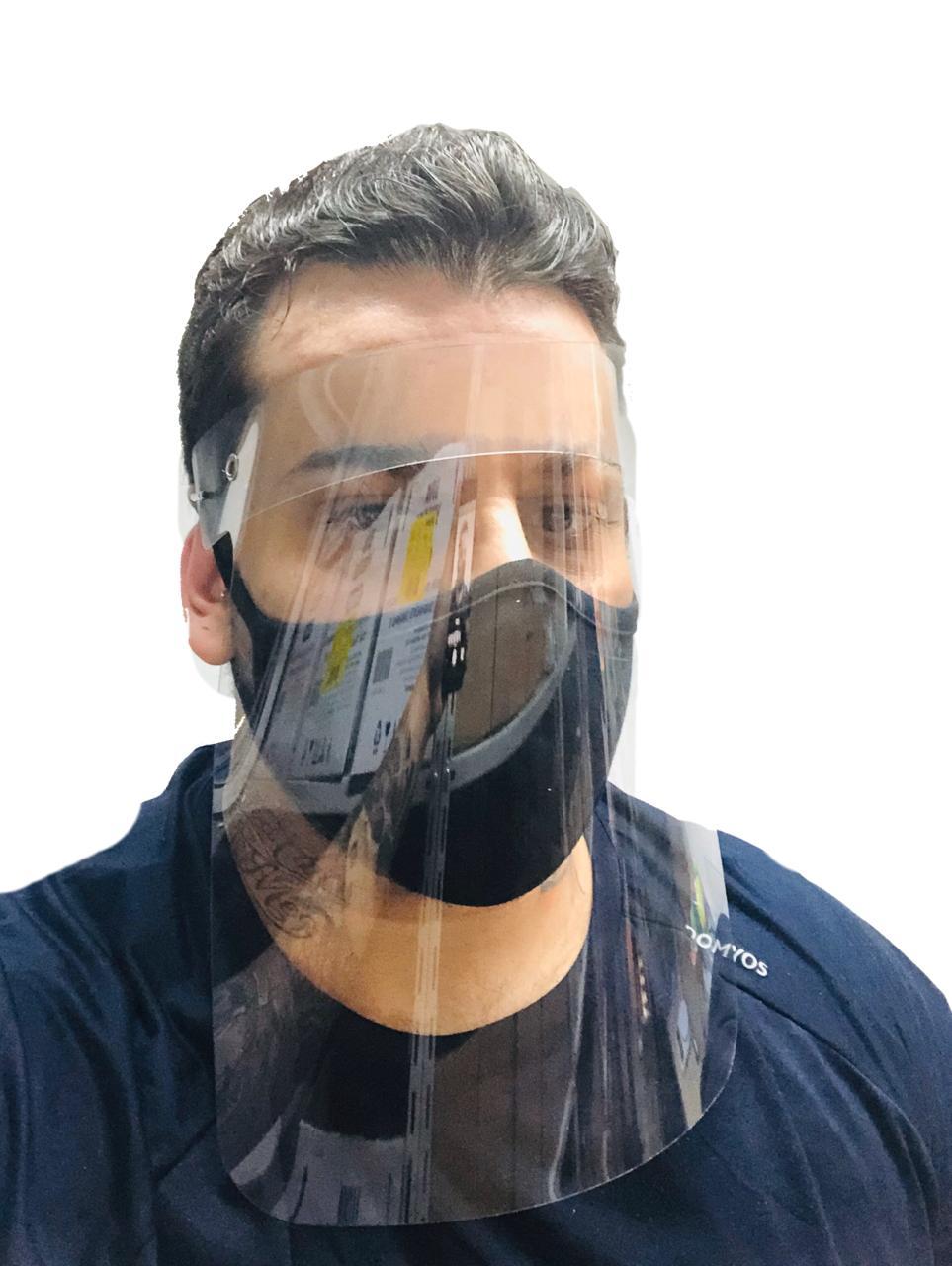 Máscara Shield Plástico