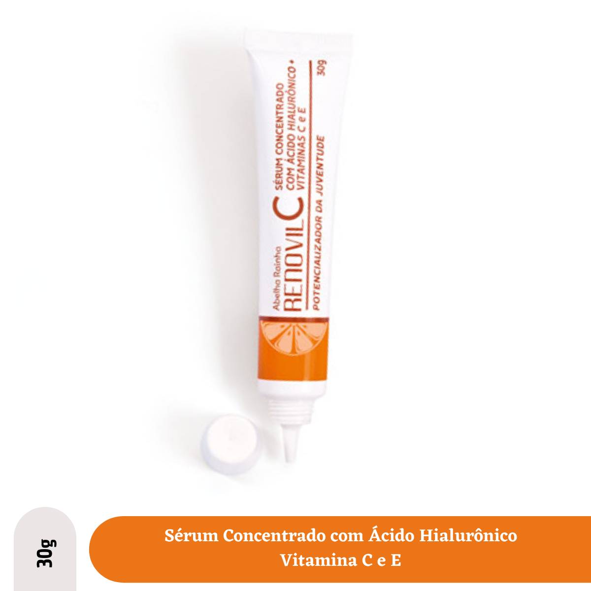Renovil-C Serum Concentrado Acido Hialuronico Vit. C e E 30g