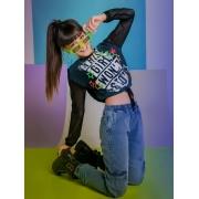 Conjunto Calça Jeans e Blusa