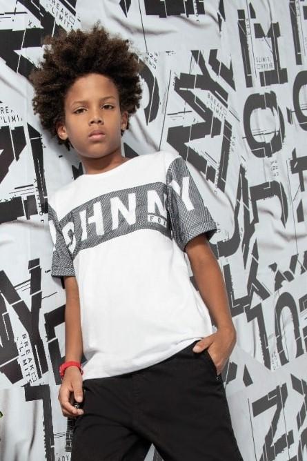 Camiseta Juvenil Branca