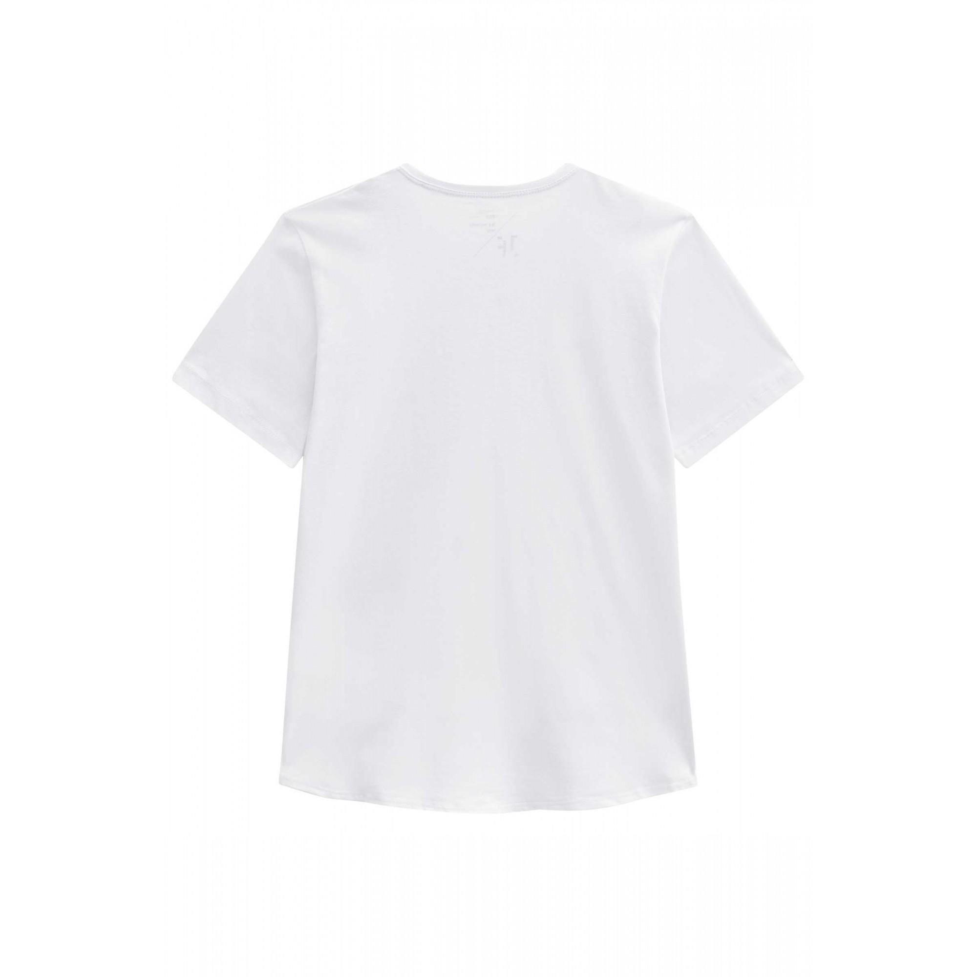 Camiseta Juvenil Branca YOU