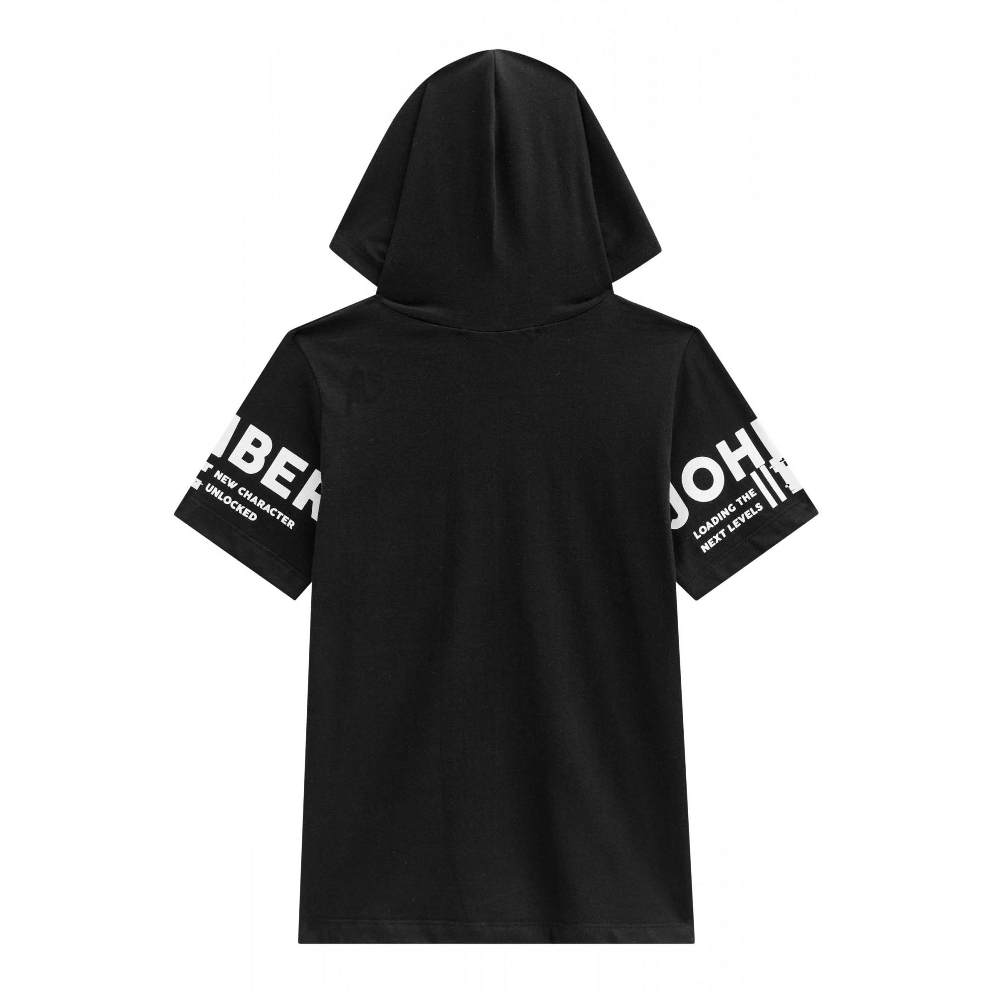 Camiseta Juvenil com Capuz