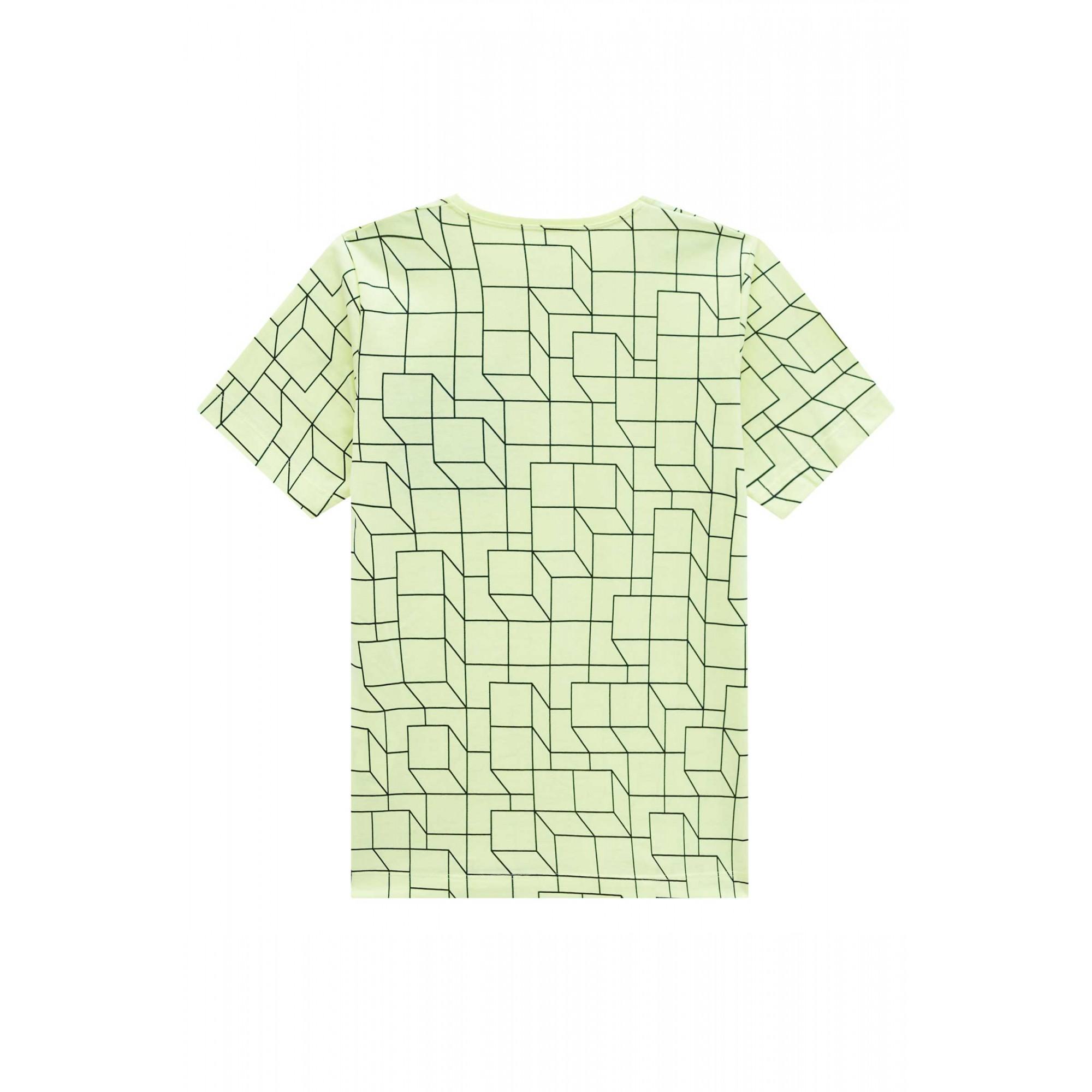 Camiseta Verde com Detalhes